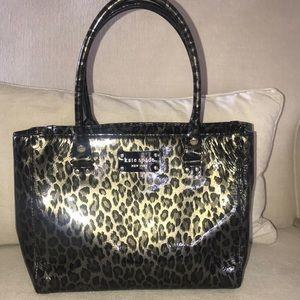 Kate Spade Leopard Handbag